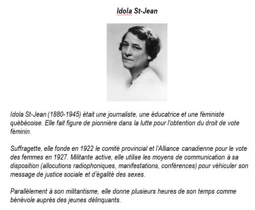 Portrait Idola St-Jean