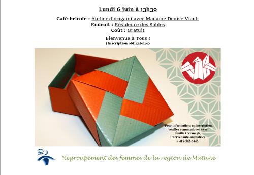 affiche origami