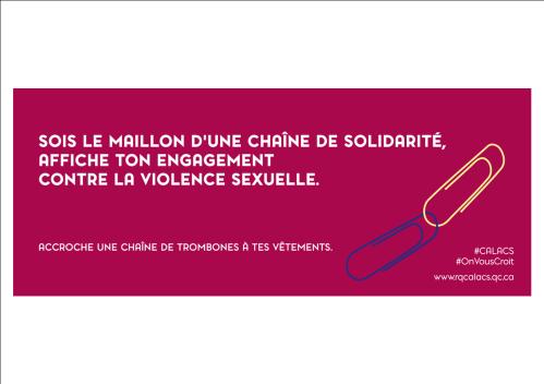 chaine de solidarité violence sexuelle